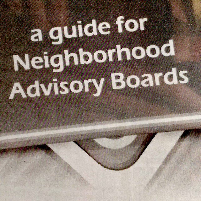 Neighborhood Advisory Boards Guide