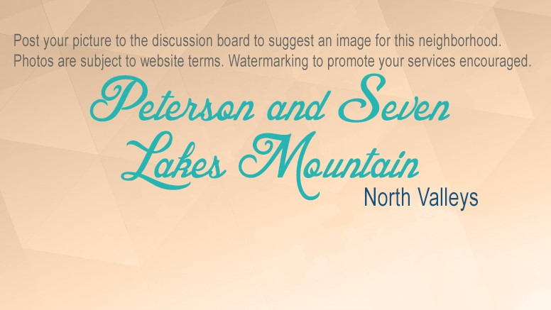 Peterson and Seven Lakes Mountain